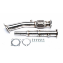 """Picture of 1.8T downpipe - front pipe for transverse motor - 3 """""""