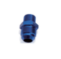 Picture of AN Male - Metric Male - Nipple Adapter - Blue Aluminum