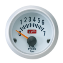 Picture of Autogauge Oil Pressure Gauge - White