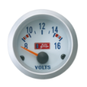 Picture of Autogauge Voltmeter - White