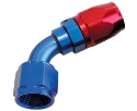 Picture for category AN fitting - Angled 60 degrees - Red / Blue alu