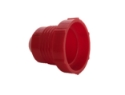 Picture of AN Threaded plastic plug - Red