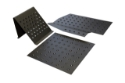 Picture of E30 / E36 / E46 floor plates with foot support