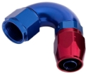 Picture of 120gr. PTFE AN fitting - Red / Blue