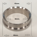 Picture of Wastegate sealing flange - 38 / 40mm. Turbo Smart