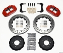 Picture of BMW E36 Narrow Superlite 6R brake kit w / holes - RED