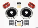 Picture of BMW E36 Dynapro brake kit w / holes - RED