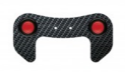 Picture of Carbon plate with two knobs for steering wheel