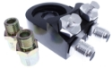 Picture of Oil cooler adapter Double outlet - AN10