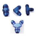 Picture for category AN Union Fitting - Blue Aluminum