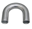 Picture of Aluminum bends 180 degrees polished