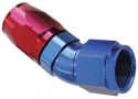 Picture for category AN fitting - Angled 30 degrees - Red / Blue alu