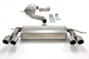 Picture of Audi A3 / VW Golf 5 / Golf 6 turbo - Simons Catback exhaust