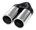Picture of Simons - Rondo Twin Exit Pipe - U176300