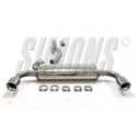 Picture of BMW F34 318D / 320D GT Simons catback exhaust