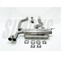 Picture of BMW 320i 2.0T 135 kW (F34) GT - Simons catback exhaust