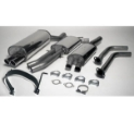 Picture of BMW E46 - 320i / 325i / 330i Saloon / Saloon Touring Coupe Cabrio M54 2.2 / 2.5 / 3.0L - Simons catback exhaust