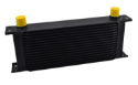 Picture of Mocal style - Oil cooler element - 10 rows AN10 connection - Black