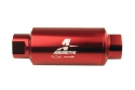 Picture of AN10 In-line Fuel Filter - 100 Micron - Red