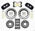 Picture of BMW E46 AERO6 Brake Kit with holes - BLACK