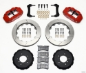 Picture of BMW E36 Narrow Superlite 6R Brake Kit - RED