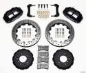Picture of BMW E36 Narrow Superlite 6R brake kit w / holes - BLACK