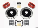 Picture of BMW E36 Dynapro brake kit w / holes - BLACK