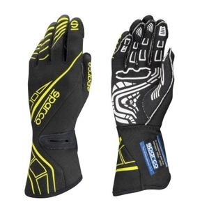 Picture of Sparco LAP RG-5 - Black/Yellow - 12/XXL