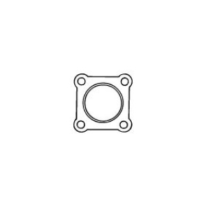 Picture of Gasket for downpipe - 4 bolt - type 7