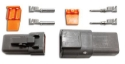 Picture of 2 pin - Deutsch connector - Male/Femal set - Incl. pins