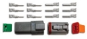 Picture of 6 pin - Deutsch connector - Male/Femal set - Incl. pins