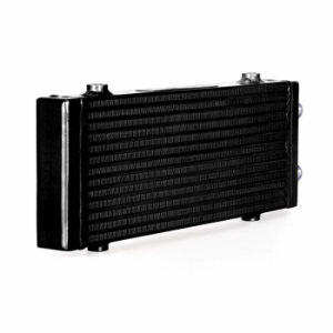Picture of Universal Dual Pass bar & Plate Oil Cooler - Large - Black - Mishimoto