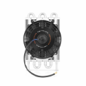 Picture of Heavy duty gearbox radiator with electric fan - Mishimoto