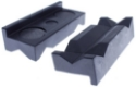 Picture of AN Plastic Jaws - For collection of AN fittings - Black