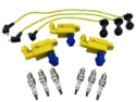 Picture of IGNITION COIL PACKS WIRES SPARK PLUGS FOR SUPRA ARISTO SOARER IS300 VVTI 1JZ 2JZ