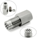 Picture of Steel Lambda O2 Oxygen Sensor Extender Spacer With Catalyst M18x1.5