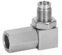 Picture of Universal Oxygen Sensor Extender 90 Degree 02 Bung Extension Catalytic Converter O2
