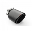 """Picture of 3"""" inlet to 4.5"""" outlet - Stainless steel and carbon fiber tailpipe"""