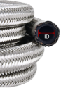 Picture of AN3 Steel reinforced gas hose - Blue (Max 10 bar)