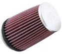 """Picture of 2.87 """"KN air filter 73mm. K&N Clamp-on 375 hp. KN filter - RC-2600"""